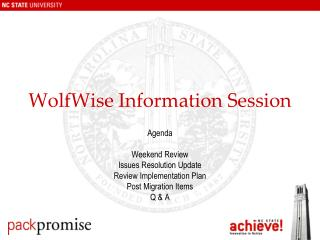 WolfWise Information Session
