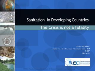 Sanitation  in Developing Countries
