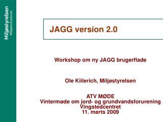 JAGG version 2.0
