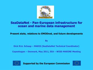 SeaDataNet - Pan-European infrastructure for ocean and marine data management
