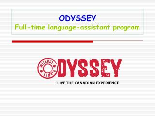 ODYSSEY Full-time language-assistant program