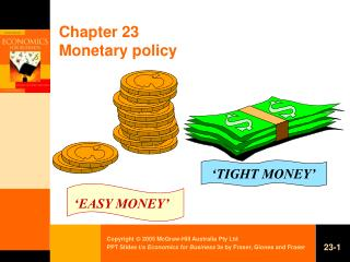Chapter 23 Monetary policy