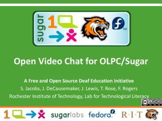 Open Video Chat for OLPC/Sugar