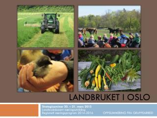Landbruket i Oslo