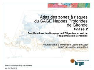 Service G�ologique R�gional Aquitaine