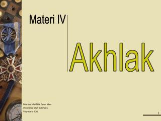 Akhlak