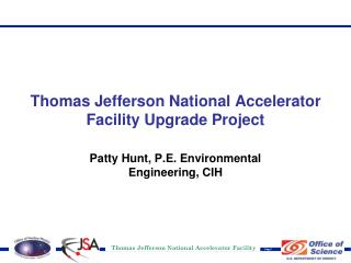 Thomas Jefferson National Accelerator Facility Upgrade Project