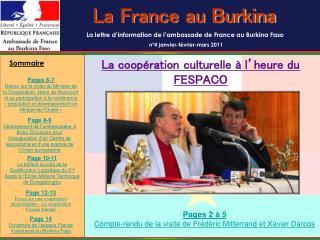 La France au Burkina