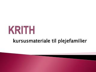 KRITH