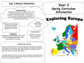 Year 2 General Information