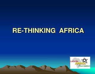 RE-THINKING  AFRICA