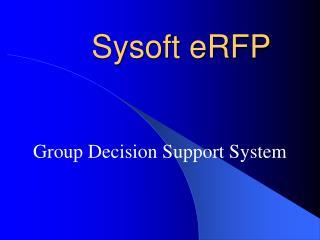 Sysoft eRFP
