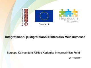 Integratsiooni ja Migratsiooni Sihtasutus Meie Inimesed