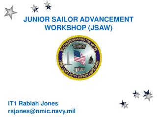 JUNIOR SAILOR ADVANCEMENT WORKSHOP (JSAW)