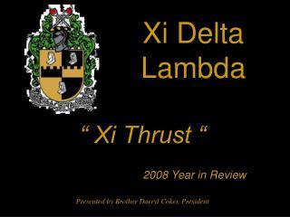 Xi Delta Lambda
