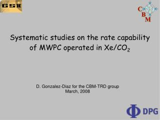 Systematic studies on the rate capability of MWPC operated in Xe/CO 2