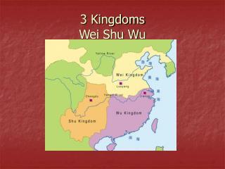 3 Kingdoms Wei Shu Wu
