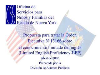 Oficina de Servicios para Ni os y Familias del Estado de Nueva York