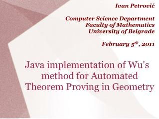Java implementation of Wu's method for Automated Theorem Proving in Geometry