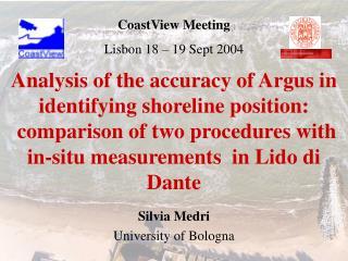 Silvia Medri University of Bologna