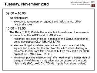Tuesday, November 23rd