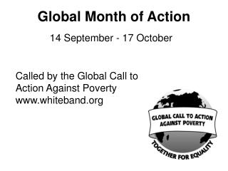 Global Month of Action