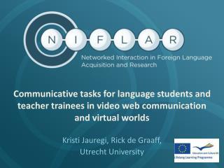 Kristi Jauregi, Rick de Graaff, Utrecht University