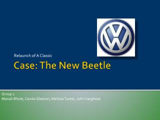 Case: The New Beetle