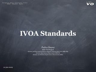 IVOA Standards