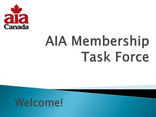 AIA Membership Task Force