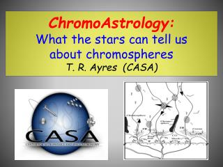 ChromoAstrology:  What the stars can tell us  about chromospheres T. R. Ayres  (CASA)