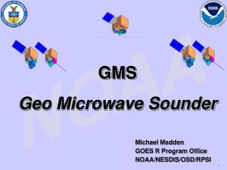 GMS Geo Microwave Sounder