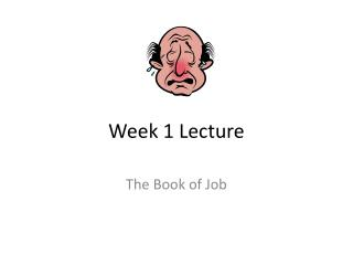 Week 1 Lecture