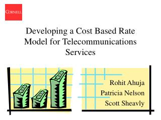Developing a Cost Based Rate Model for Telecommunications Services