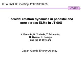 Toroidal rotation dynamics in pedestal and core across ELMs in JT-60U