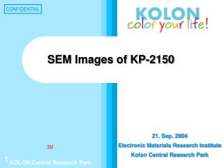 SEM Images of KP-2150