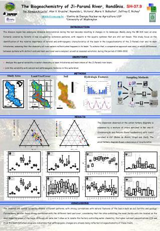 The Biogeochemistry of Ji-Paran� River, Rond�nia . SH-37.9