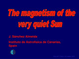 The magnetism of the  very quiet Sun