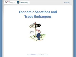 Economic Sanctions and Trade Embargoes