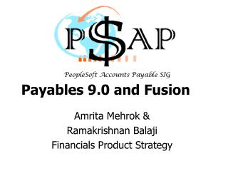 Payables 9.0 and Fusion