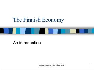 The Finnish Economy