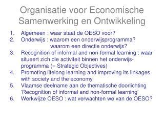 Organisatie voor Economische Samenwerking en Ontwikkeling
