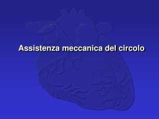 Assistenza meccanica del circolo