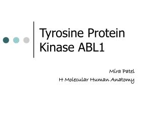 Tyrosine Protein Kinase ABL1