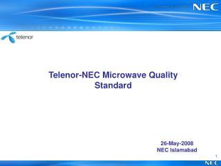 26-May-2008 NEC Islamabad