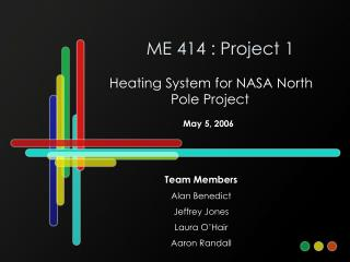 ME 414 : Project 1
