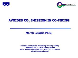 AVOIDED CO 2  EMISSION IN CO-FIRING