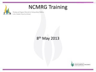 NCMRG Training