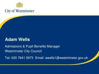 Adam Wells