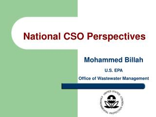 National CSO Perspectives